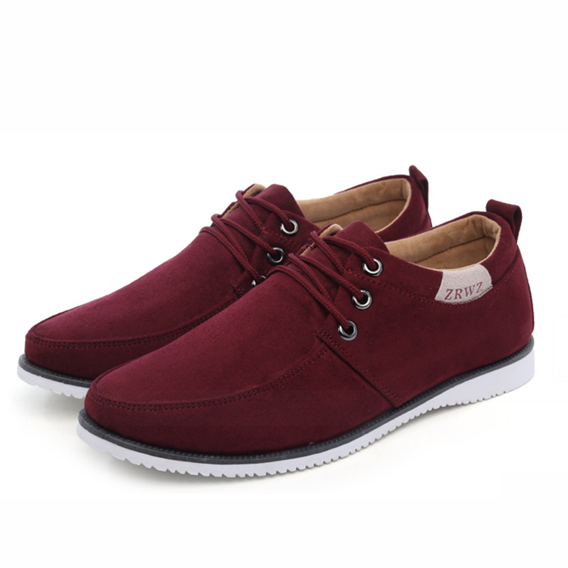 New 2017 Autumn Spring Men Shoes Casual Leisure Male Footwear Fashion Men 39 S Flats Suede Leather