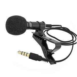 Image 5 - Portable Professional Grade Lavalier Mic Microphone 3.5mm Jack Omnidirectional Clip on Microphone for Recording Live Video