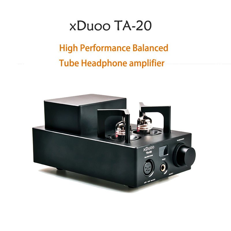 2017 New arrival XDUOO TA-20 High Performance Balanced Tube Headphone amplifier new arrival xduoo xd 05 portable audio dac