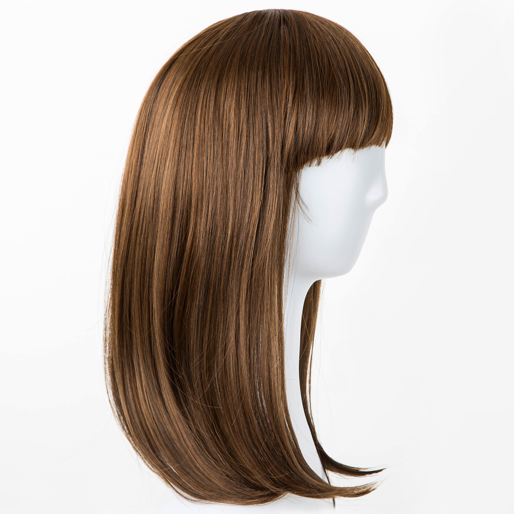 Synthetic Wigs Black Wigs Fei-show Synthetic Heat Resistant Fiber Wavy Child Hair Light Brown 44 Cm Head Circumference For 4-10 Year-old Girls Hair Extensions & Wigs
