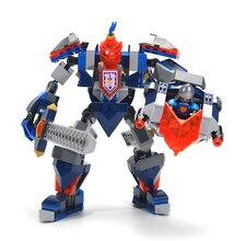 NEXO Knights Building Blocks Minifigures Future Knight Robin Macy Clay Beast Master Children Bricks Nexus