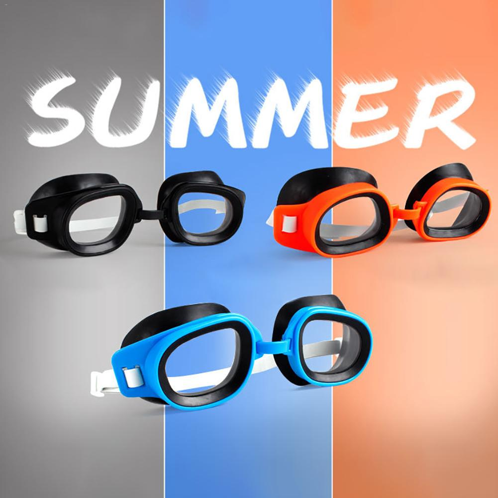New style Anti-fog Plain Glass High-definition Waterproof Swimming Goggles Universal for Children and Adults