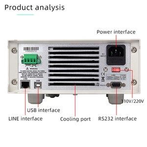 Image 3 - Korad KEL103 プログラミングデジタル制御の dc 電子負荷 300 ワットプロフェッショナル電気バッテリーテスター 120 v 30A