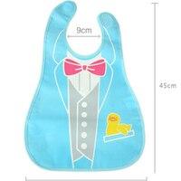 Baby Bibs Avental Infantil Bib For Feeding Animal Cartoon Plastic Pvc Baby Eating Bibs Accessory Cute
