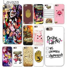 Lavaza Gravity Falls Hard Phone Case for iPhone XR X XS 11 Pro Max 10 7 8 6 6S 5 5S SE 4 4S Cover