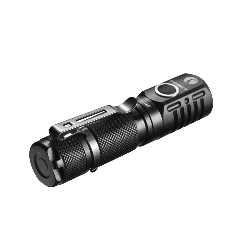 LUMINTOP EDC05 Mini Flashlight Cree XP-L Led 800 Lumens With Magnetic Tail Power By AA/14500 Battery IP68 Waterproof