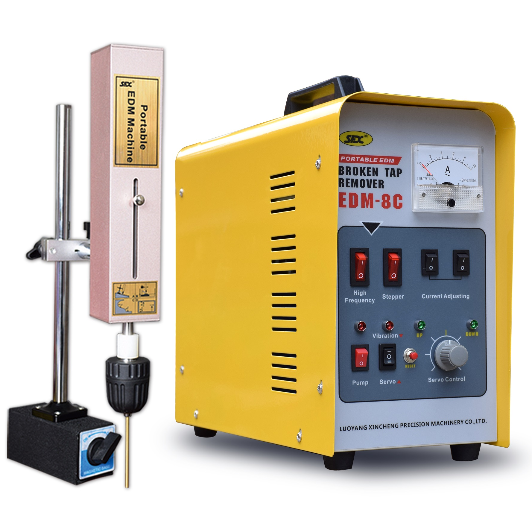 US $1580 0 |800W auto feed stepper current broken tap remover portable EDM  spark eroding machine-in Wire EDM Machine from Tools on Aliexpress com |