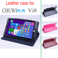 Luxury Business Style Utra Thin Folding Stand Flip Leather Cover Case For Chuwi Vi8 Tablet PC