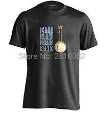 I Came I Saw I Played Banjo Mens & Womens Summer Short Sleeve T Shirt