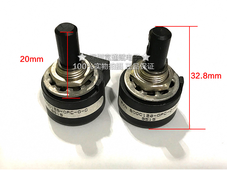 цены на [VK] OAK photoelectric sensor potentiometer encoder 800C128-0PC-0-0 4 feet
