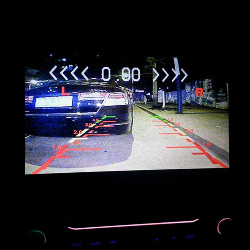 1 cadre de plaque d'immatriculation européenne + 1 caméra de recul de voiture + 2 capteurs de stationnement cadre de plaque d'immatriculation d'automobiles pour plaque d'immatriculation - 2