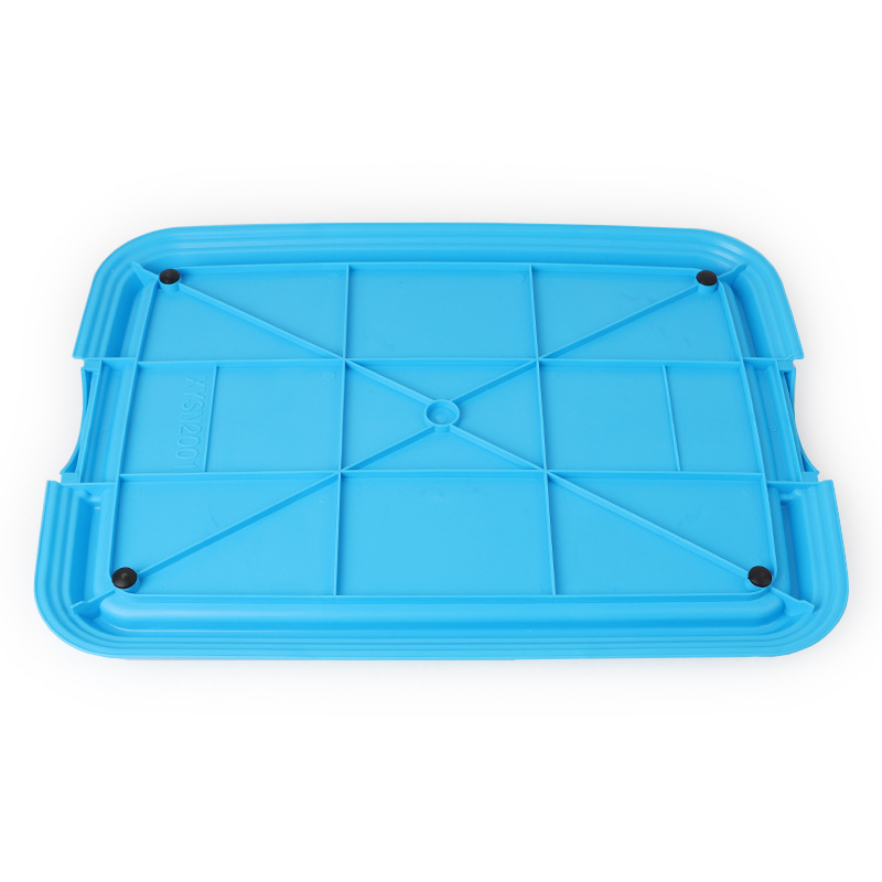 Reusable Puppy Training Pad with Grid Tray for Pets Potty Training Made with PP Resin Material 5