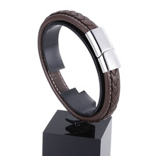 Trendy Genuine Leather Bracelet for Men