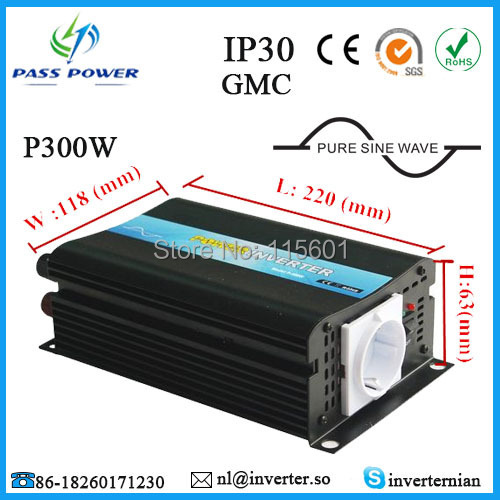 цена на Factory Selling, CE&ROHS&SGS approved, car inverter, pure sine wave power inverter 12v 220v 300w