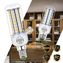 E14 Led Lamp E27 LED Corn Bulb 220V Bombillas SMD5730 Candle Light 3W 5W 7W 9W 12W 15W Indoor Lighting Decorative 240V