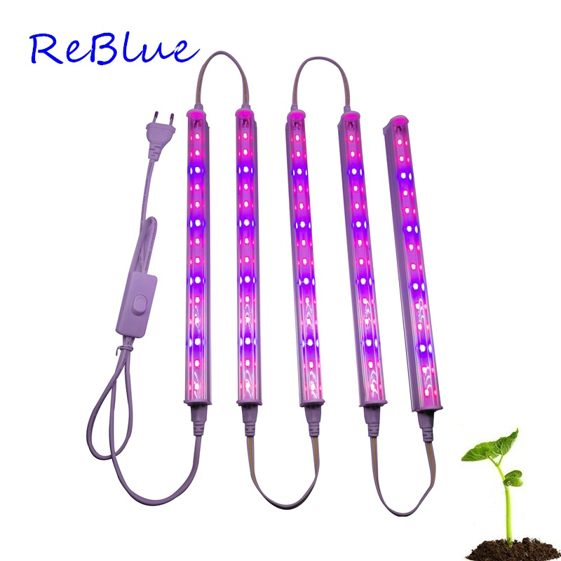 ReBlue Led For Plants Grow Light Bulbs For Plant Growth Lamps For Plants led bulbs seedling 660nm full spectrum T5 grow lights