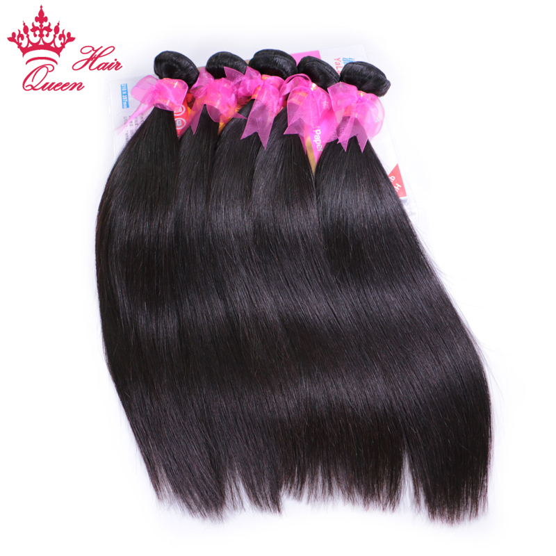 Queen Hair Products Brazilian Straight Remy Hair Bundles 100 Human