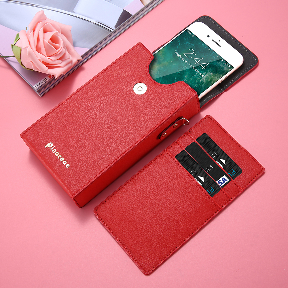 KISSCASE Leather Case Bags For iPhone 6 6s 7 5 5s se 7 Plus Samsung S7