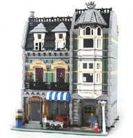 2462Pcs New 15008 LEPIN City Street Green Grocer Model Building Blocks Kids DIY Bricks Toys Gift