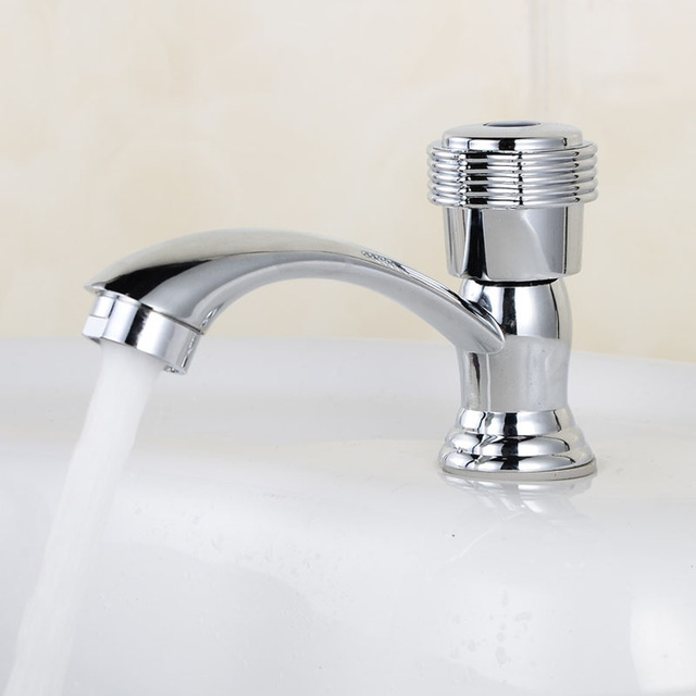 Beautiful Modern Bathroom Faucet For Sink White Cold Water Tap ...