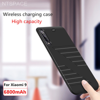 Battery Charger Case For Xiaomi Mi 9 6800nAH For Redmi K20 Pro Stand Anti fall Soft edge Portable Battery Back Cover