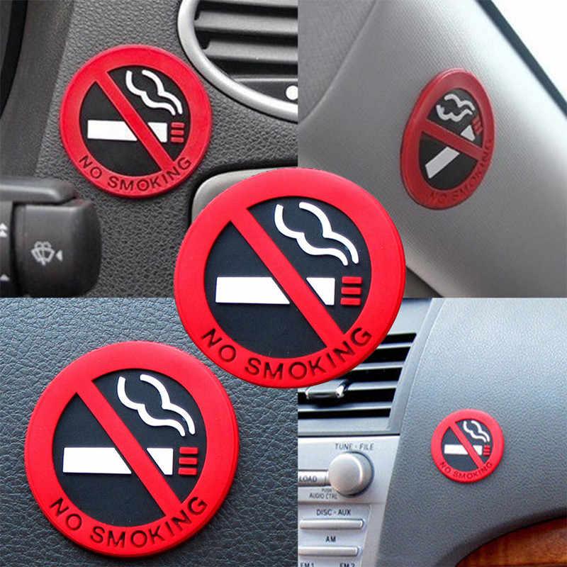 Nội thất ô tô không hút thuốc cảnh báo Miếng dán kính cường lực cho Xe Đạp Peugeot 206 207 208 301 307 308 407 2008 3008 4008