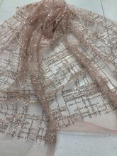 L-113 nice design glued glitter mesh african indian lace fabric for wedding   evening dress 8f2669c48c65