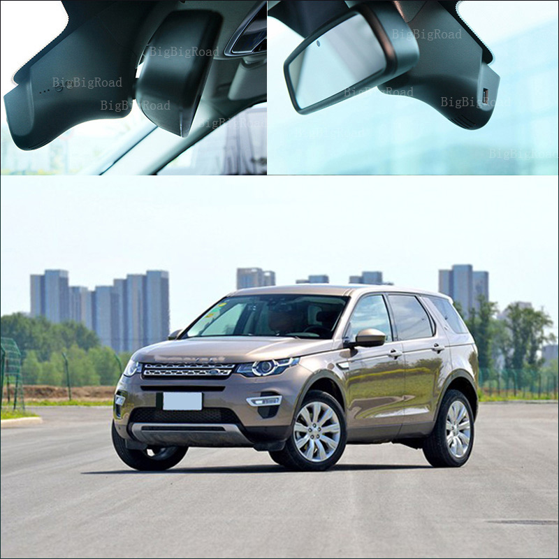 BigBigRoad For Land Rover Discovery Sport Car wifi DVR Video Recorder Dash Cam G-Sensor Car Black Box Keep Car Original Style leather car seat covers for land rover discovery sport freelander range sport evoque defender car accessories styling