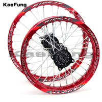 red 12mm or 15mm Rea 1.85 14 inch Front 1.60 17 inch aluminium Alloy Wheel Rim For 160cc 150CC Dirt Pit bike 14 17 inch wheel