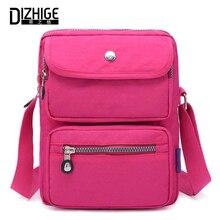 DIZHIGE Brand Luxury Waterproof Nylon Women Small Bags Fashion High Quality Crossbody Bag For Solid Shoulder