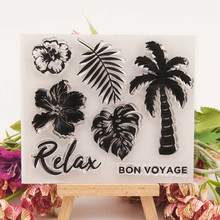Coconut Tree Santa Claus Cutting Dies Greeting Cards Scrapbooking Die 3D Stamp DIY Card Photo Decoration Supplies