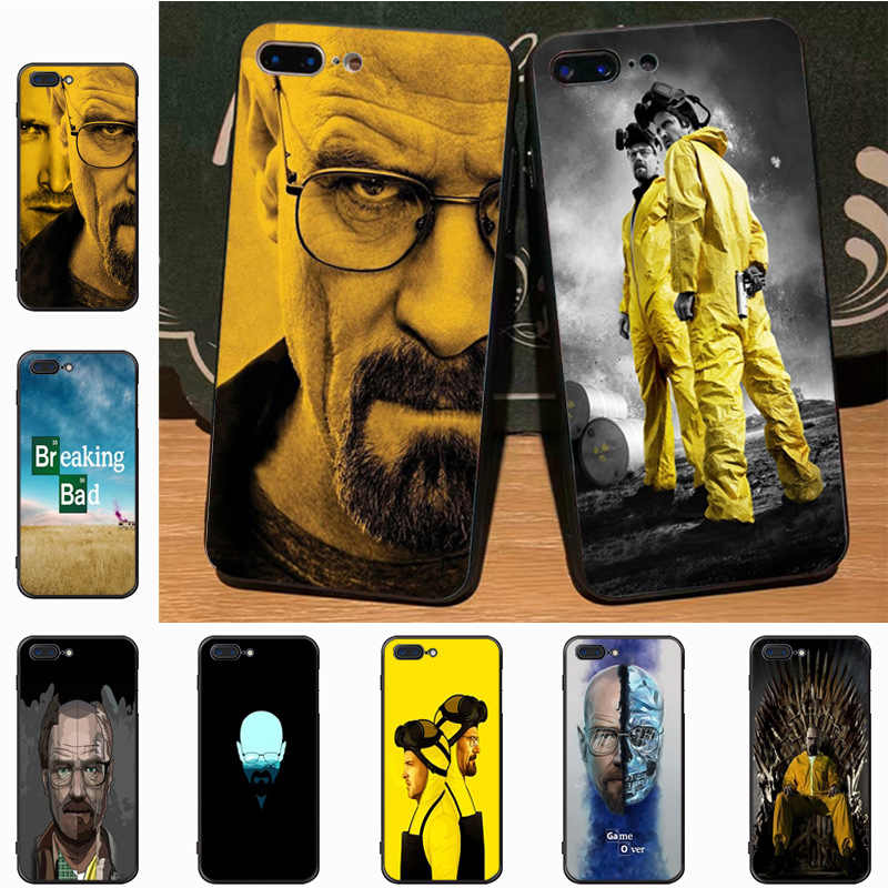 Yinuoda Breaking Bad Wallpaper Protective soft tpu Mobile Phone Case for Apple iPhone 8 7 6 6S Plus X 5S 11pro SE 5C case Cover