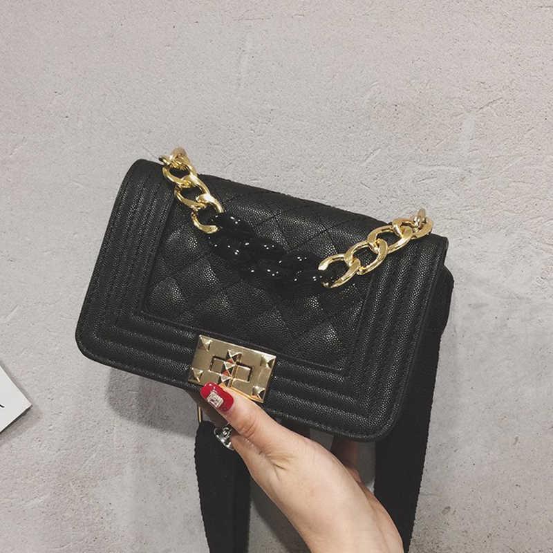25cb28f24c ... 2019 new trend Crossbody women Bags High Quality Chain Ladies Women  Messenger Bag Designer Vintage Shoulder ...
