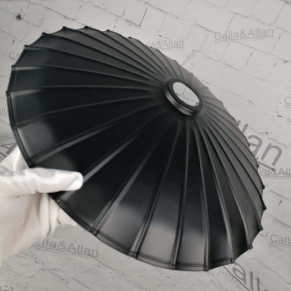 Free shipping D350mm*H55mm E27 lamp shade black finished cage edison lamp shade DIY black iron shade for lighting