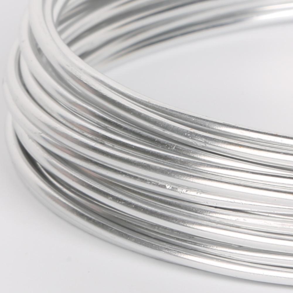 New Arrivals 12Colors length 5m anodized aluminum round wire dead ...