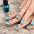 New Gold Silver Efecto Metal Nails Art Puntas de DIY Diseño Manicura Esmalte de Uñas 6 ml Gelpolish