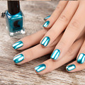 New Gold Silver Effect Metal Nail Polish 6 ml Nails Art Tips DIY Manicure Design Gelpolish