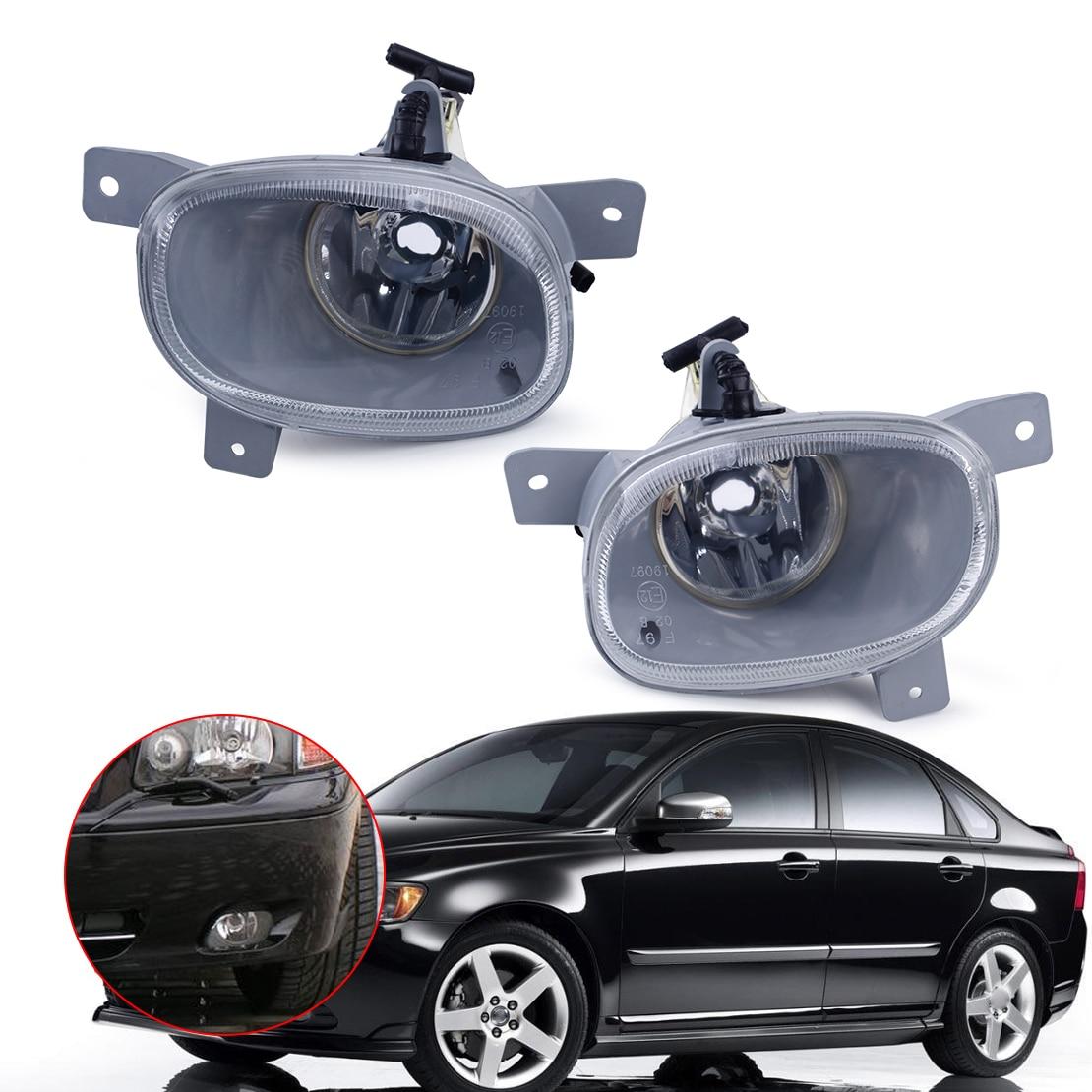 CITALL 1Pc Left Right Front Bumper Fog Light Lamp Fit For Volvo S80 1999 2000 2001 2002 2003 2004 2005 2006 8620224 8620225