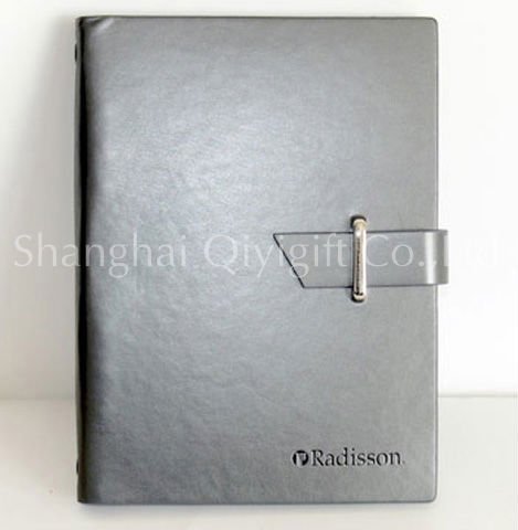 Business leather notebook