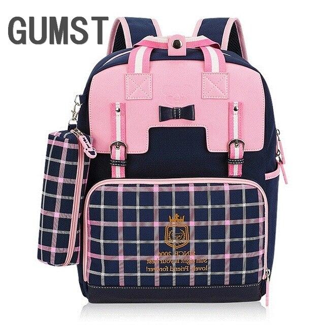 cc1600dad9 Cute Girls backpacks school backpack children orthopedic school supplies school  bags for girls kids backpack Mochila Escolar
