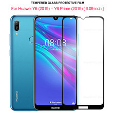 Full Cover Tempered Glass for Huawei Y6 2019 Screen Protector for Huawei Y6 Prime 2019 Protective Glass Film on Huawai Y 6 Prime(China)