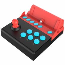 Arcade Gaming Joystick For Nintend Switch Game Controller Gamepad with 8 Turbo Function Buttons for Single Rocker Control Games цены