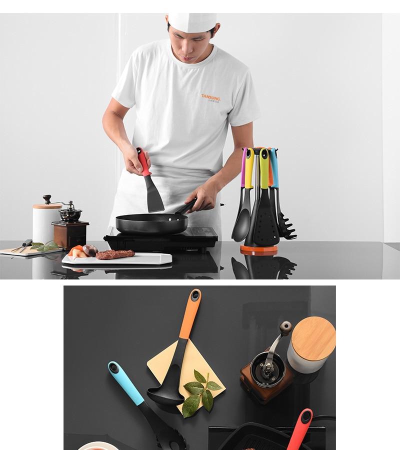 Bigwinner 6 pçs sets Cozinhar Conjunto de