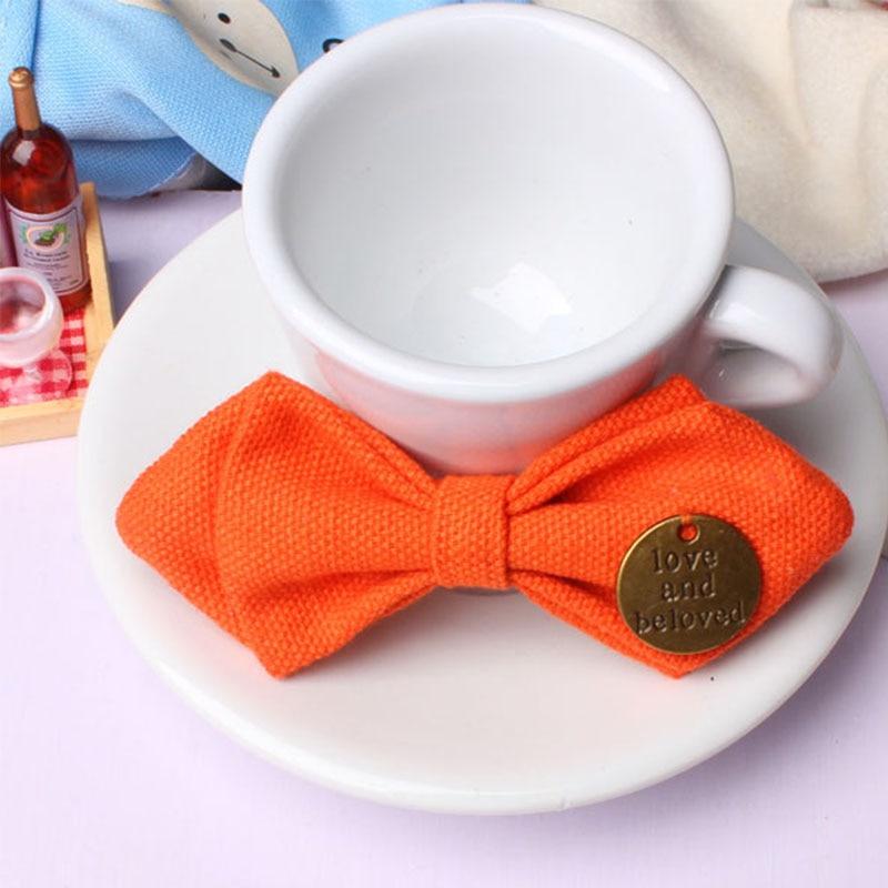 Mantieqingway Bowtie para bebés niños de algodón ajustable - Accesorios para la ropa - foto 2