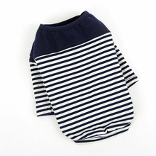 Fashion Striped Cotton Pullover for Dogs