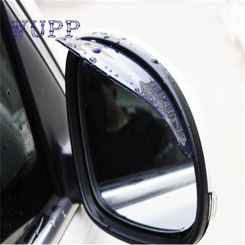 AUTO 1 PC Car styling universal Rear Mirror Rain Board Eyebrow Visor Shade Shield Water Guard For Car Truck Free shipping SE 13