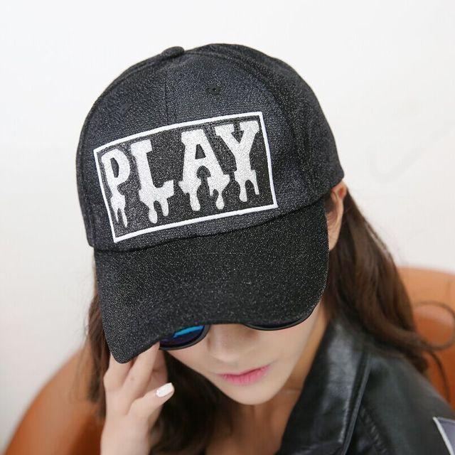 208c1fc3438 Gold Wire Line Print Letter Women s Hats Summer Sun Hip Hop Brand Baseball  Cap Female Snapback