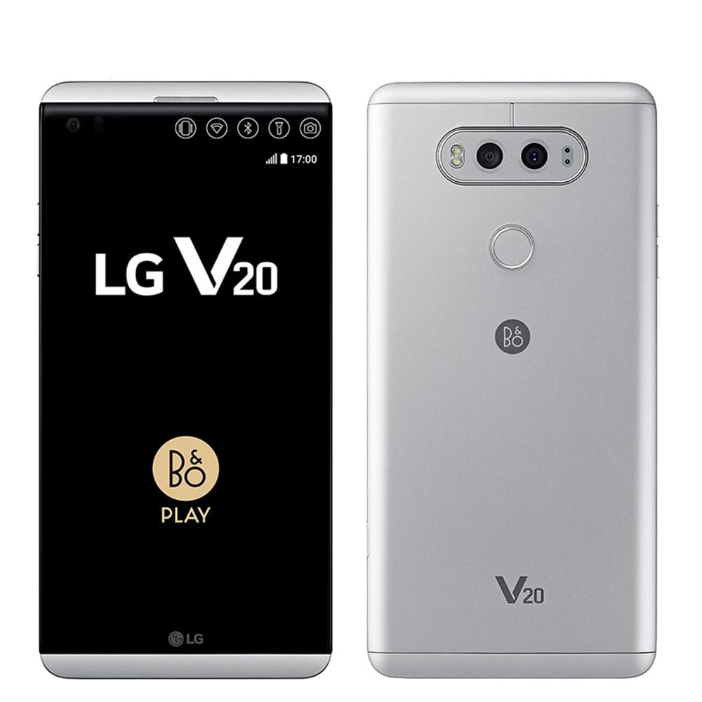 Unlocked Original LG V20 H990N/VS995/H910 ROM 64GB Quad Core 5.7'' Snapdragon 820 16MP+8MP Camera Fingerprint 4G LTE Smartphone