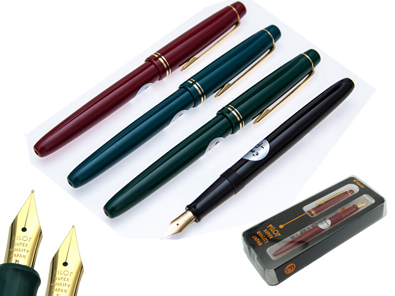 Fountain pen F / M Nib Original JAPAN PILOT 78G Signature pen office school stationery   Free Shipping new fountain pen fine print rex young f [black] axis fnyr300rb japan import