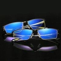 משקפיים מחשב משקפיים משחקים אנטי ריי הכחול sn207 מסגרת משקפיים לגברים עם כיכר משקפי שמש מגנזיום אלומיניום
